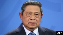 Indonesian President Susilo Bambang Yudhoyono (2013 photo)