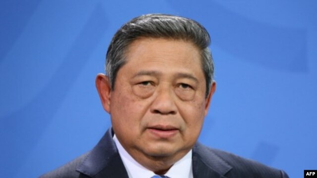 FILE - Indonesian President Susilo Bambang Yudhoyono.
