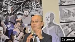 台灣屏東大學文化創意產業學系教授張重金(照片提供: 張重金)