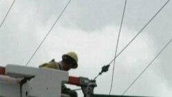 بازديد باراک اوباما از مناطق آسيب ديده در لوئيزيانا پس از توفان آيساک