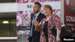 Michelle Bachelet, la esperan el miércoles 19 de junio de 2019 venezolanos que padecen la peor crisis en todos los órdenes que recuerda el país.