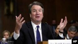 Hakim Mahkamah Agung Amerika, Brett Kavanaugh (foto: dok).