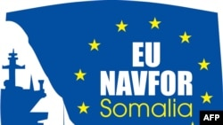 A picture released by the EU NAVFOR shows the EU's naval mission logo. (AFP photo/EU NAVFOR)