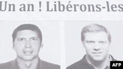 Fransız jurnalistlərin girov götürülməsinin birinci ildönümünü qeyd edilib