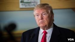 共和党总统参选人川普(资料照片)