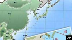 中国周边海域事态发展