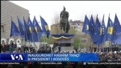 Inaugurohet Presidentii Hashim Thaci