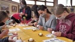 Пізнати глибину культури – традиційні майстер-класи українського писанкарства у США. Відео