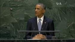 Україна стала центральною темою промови Обами