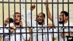 Pritvorene pristalice Muslimanskog bratstva