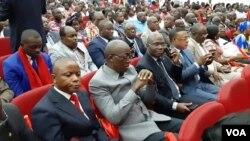 Les participants aux univeristés de la majorité présidentielle à Brazzaville