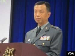 台湾国防部发言人陈中吉