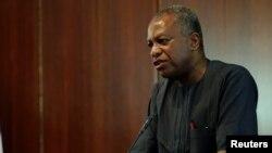 Ministan harkokin hajen Najeriya, Geoffrey Onyeama