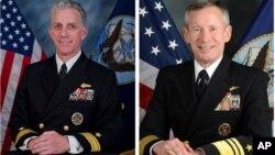 Los almirantes Bruce F. Loveless y Ted Branch han sido temporalmente suspendidos y están bajo investigación.