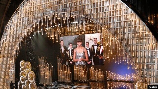 Prva dama Amerike Mišel Obama najavila dobitnika Oskara u kategoriji najboljeg filma
