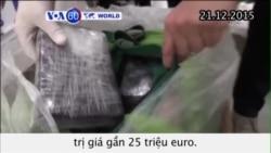 Ba Lan thu giữ 176kg cocaine trong xe chở chuối (VOA60)