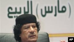 리비아의 지도자 무아마르 가다피 (자료사진)