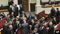 В парламенте Украины (архив)