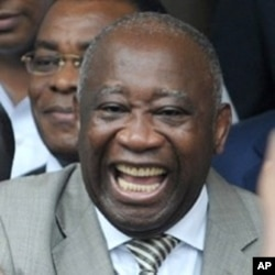 President Laurent Gbagbo (file photo)