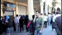 بازار تهران و اصفهان نیمه تعطیل شد
