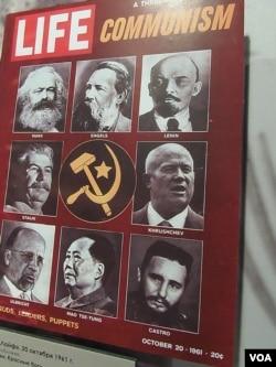 1961. 1961年的美國時代週刊封面。(美國之音白樺攝自赫魯曉夫展覽)