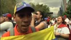 تظاهرات و ناآرامی کاراکاس را فرا گرفت