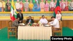 مقام های دو کشور توافقنامه را امضا کردند.