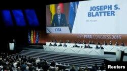 Predsednik FIFA-e govori na otvaranju Kongresa u Cirihu