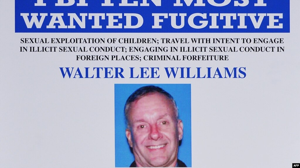 Most Wanted US Fugitive Arrested in Mexico – Wanted Criminal Poster