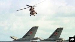 Máy bay chiến đấu của Thổ Nhĩ Kỳ