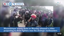 VOA60 Africa - Mozambique: Thousands forced to flee an attack by rebel insurgents in Palma