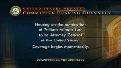 Live: слушания по утверждению Уильяма Барра на пост Генпрокурора США