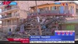 Prédio cai em Nairobi