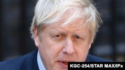 Photo by: KGC-254/STAR MAX/IPx 2020 4/5/20 UK Prime Minister Boris Johnson hospitalized with coronavirus (COVID-19). STAR MAX File Photo: 12/13/19 Prime Minister Boris Johnson leaves for Buckingham Palace after winning the 2019 General Election in…