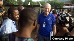 John Stremlau is the vice president for peace programs at the U.S.-based Carter Center. (Gwenn Dubourthoumieu/TCC)
