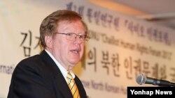 미국 국무부의 로버트 킹 북한인권 특사(자료사진)