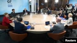 Các lãnh đạo khối G-7 ra tuyên bố chung cứng rắn với Trung Quốc.