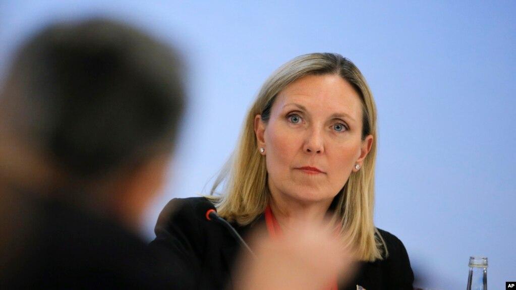 Bà Andrea Thompson, Thứ trưởng Ngoại giao Hoa Kỳ phụ trách Kiểm soát Vũ khí và An ninh Quốc tế.