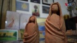 قبائلی علاقے لنڈی کوتل کی نوجوان مصورہ