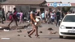 Manchetes africanas 12 Julho: África do Sul - militares foram destacados para reprimir a violência no país