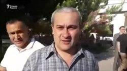 Toshkentda jurnalistlar ozod etildi