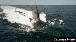 미국의 핵잠수함 노스캐롤라이나 호. (자료사진)