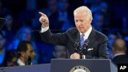 Phó Tổng thống Mỹ Joe Biden tại cuộc họp AIPAC ngày 20/3/2016 ở Washington D.C.