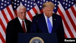 Donald Trump and Vice President Mike Pence