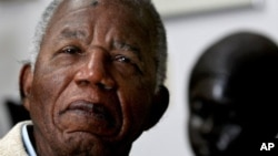FILE - Nigerian author and dissident Chinua Achebe.