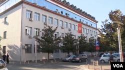 Zgrada Višeg suda u Podgorici, gde se održava suđenje za pokušaj državnog udara