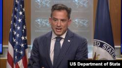 로버트 팔라디노 미국 국무부 부대변인이 7일 정례브리핑에서 북한 문제 등에 관해 언급했다.