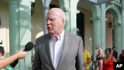 帕特里克萊希在古巴接受訪問