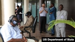TechCamp at the U.S. Embassy in Kinshasa
