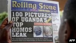 Tờ báo Rolling Stone ở Uganda cho chạy tin hàng đầu về 100 người đồng tính hàng đầu ở Uganda